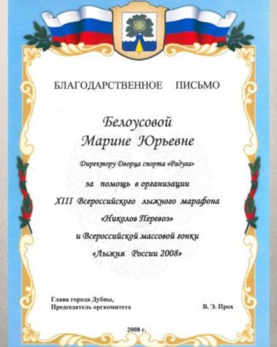 XIII Всероссийский лыжный марафон «Николов Перевоз», Всероссийская массовая гонка «Лыжня России 2008»