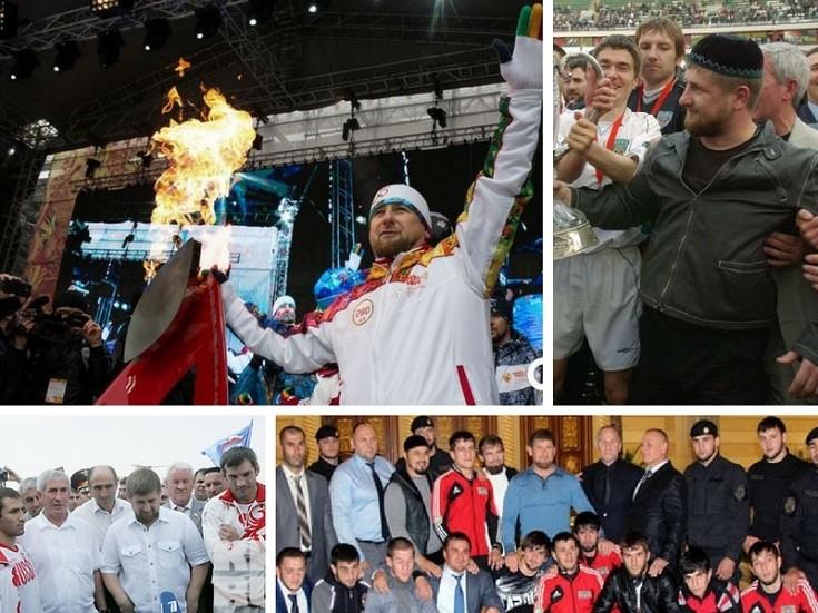 Рамзан Кадыров спорт