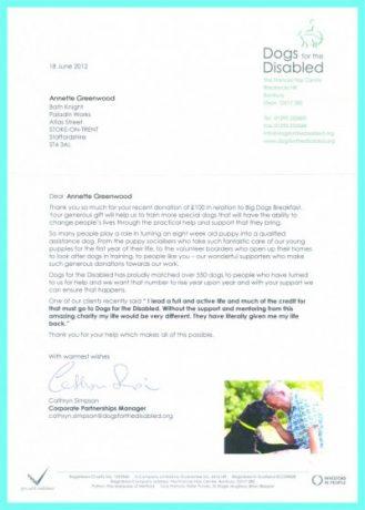 Благодарственное письмо – формальность или инструмент фандрайзинга?