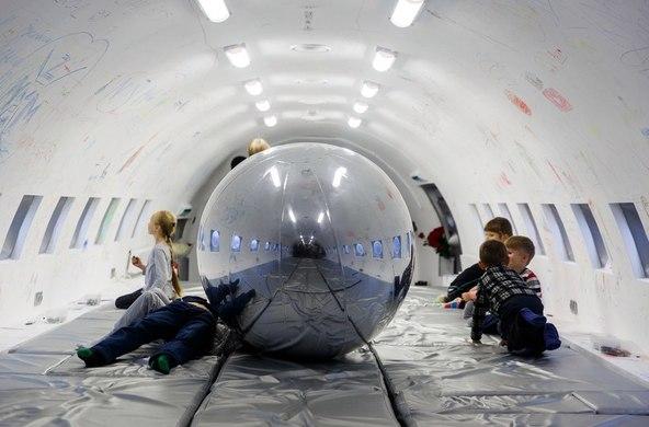 Конкурс для проведения выставки в самолете на ВДНХ
