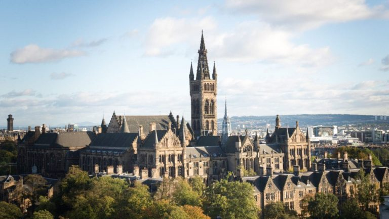 Грант университета University of Glasgow
