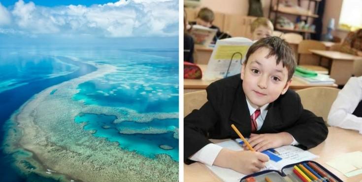 Конкурс для школьников об экосистеме океана 2018