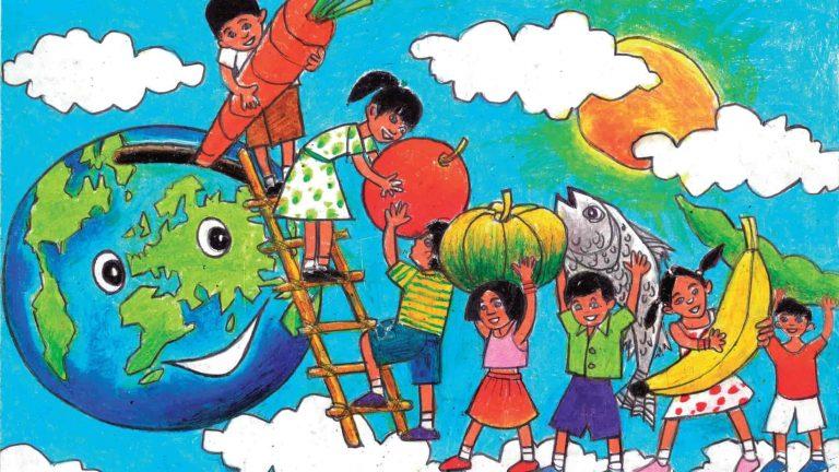 Конкурс на лучший постер ко Всемирному дню продовольствия
