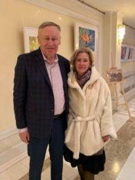 Поэт Александр Матвеев и эксперт Марина Белоусова